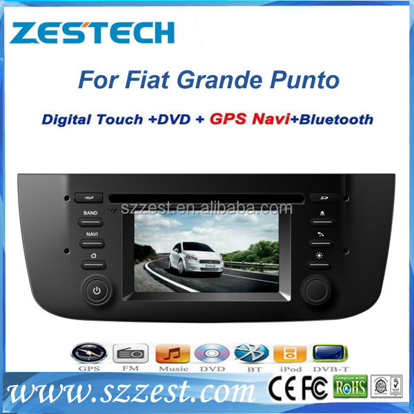 ZESTECH car multimedia TV car navigation for Fiat Grande Punto car navigation system digital player radio