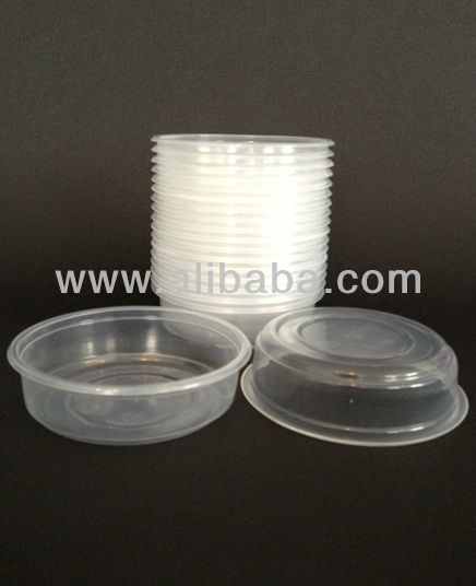125ml PP Transparent Disposable Plastic Dessert Bowl / Sauce Cup