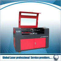 paper laser cutting machine GY-9060E agent wanted worldwide