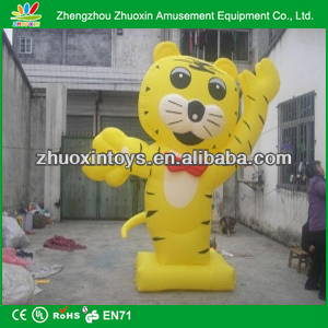 Tiger inflatable mascots inflatable advertising inflatable cartoon models promotional products