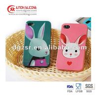 Fashion Silicone Cover Suppliers for Iphone 4s