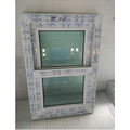 Conch brand PVC tinted glass single hung windows
