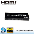 4x2 HDMI Splitter Video Matrix with 3D Support