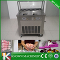 Hot sale customed rolling fry ice cream machine/pan fried ice cream machine