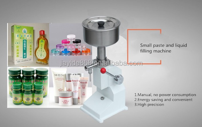 a03 manual paste peanut butter filling machine or hand pressure paste filler