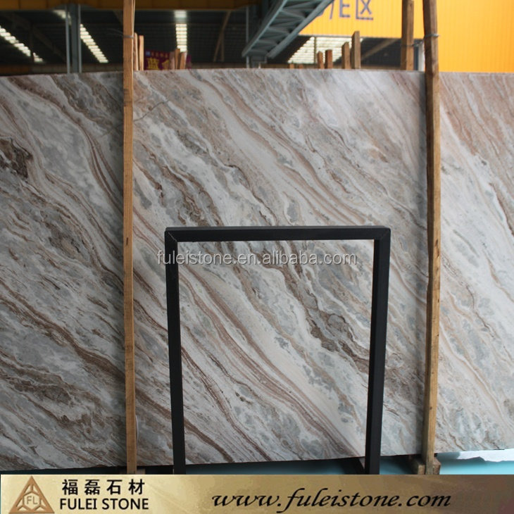 Indian Fantasy Brown marble slabs