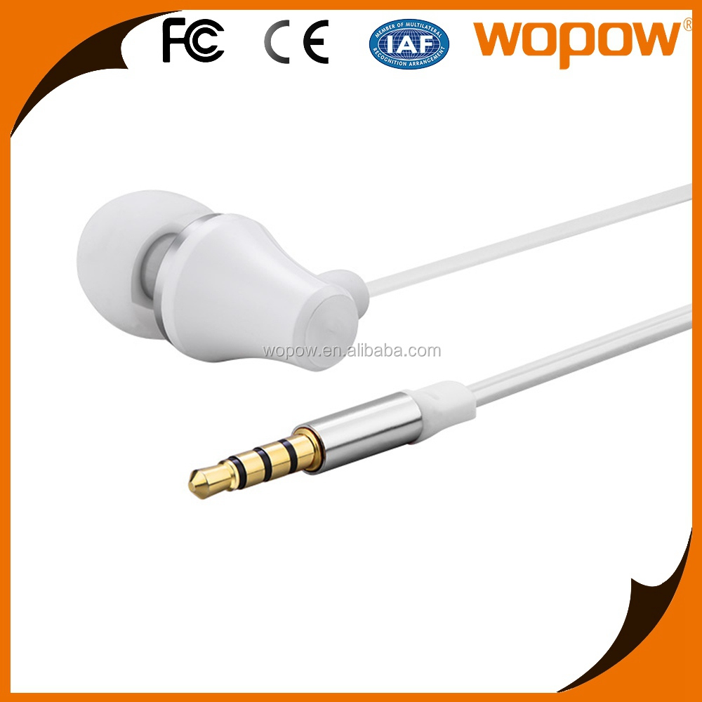 WOPOW fast shipping Used accessories earphone and headphone in ear earphone
