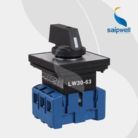SAIP/SAIPWELL Hot Sale 3 Poles 63A Electrical Waterproof Tumbler Switch