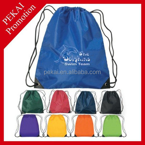 Custom Logo Printing Non Woven Drawstring Shoe Bag