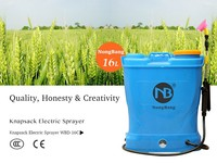 2015 new agriculture plastic knapsack sprayers