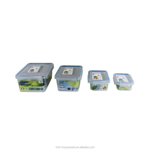 Factory Manufacture household 1 liter container household plastic food storage container take away plastic tomato container