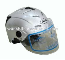 2017 new design high quality safety style half motorcycle helmet for sale