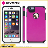 China Guangzhou wholesale Import Hybrid Heavy Duty Dual Layer Armor Defender Case Cover for Apple iPhone 6 plus celulares