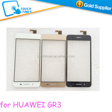 100% New Original Mobile Phone Touchscreen For HUAWEI GR3 Black White Gold