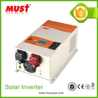 <MUST> Most popular 12V 220V dc to ac smart charger / 24V low frequency UPS power inverter / 1000W battery inverter