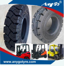ANYGO brand 250-15 28x9-15 300-15 315/70-15 XZ08,XZ18 Forklift solid tyres, solid resilient tyres