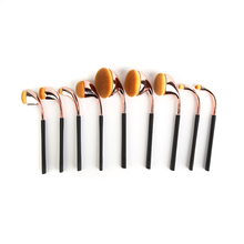 OEM free sample private label vegan nylon toothbrush synthetic makeup brush sets