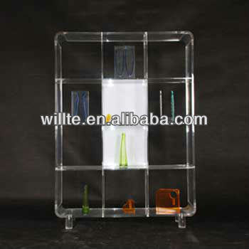 Clear Acrylic Little Doll Display Stand