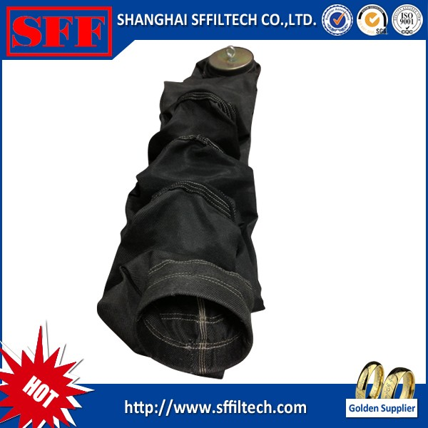 top quality fiberglass dust collector filter bag for cement industry in china