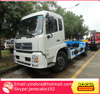10 cbm Rear loader garbage bin truck manufacturer