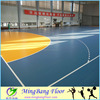 healthy PVC flooring for sports use portable basketball court sports flooring