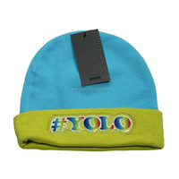 Cold Weather Hat Spandex Knitted Beanie Hat