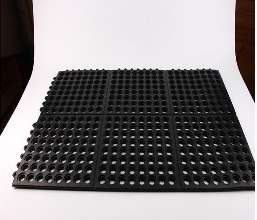 annti-static anti-slip rubber mat perforated rubber mats