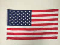 3x5ft polyester USA american flag- free shipping fast delivery in 2 days
