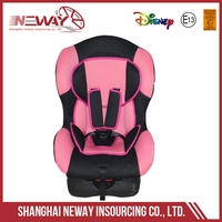 Low price hot selling safety portable child racing car seats