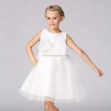 Hot sale beautiful embroidery white girls dress names with pictures