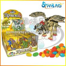 Dinosaur candy toy
