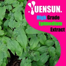 OEM erection enhancement Epimedium extract Powder Icariin 5%~98% NSF-GMP certified, discount freight
