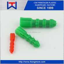 Pollution-free material Nylon/PVC Plastic Anchor