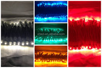 12mm 5V Miracle Bean 3G Colorful Waterproof LEd pixel strip light