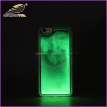 [somostel]New Quicksand TPU Protector Case For iPhone 5s 5 se 6 6s 7 Light Glow Luminous phone case for huawei p9 case