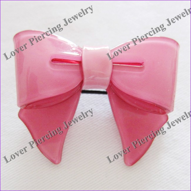 [CP-003] Custom Unique Fashion Punky Bowknot Hair Clip Jewelry