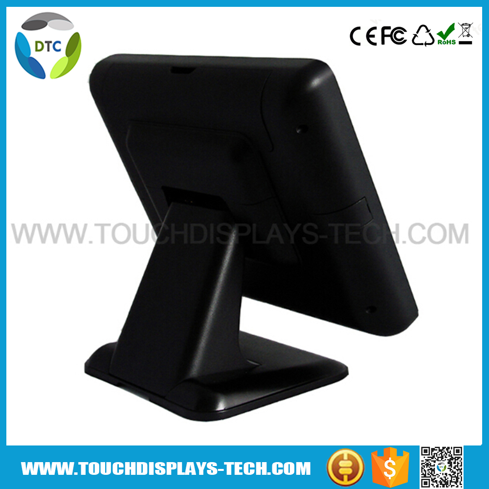 15'' touch screen pos thermal , DDR32FG MENORY , wifi and Bluetooth optional all-in-one touch computer