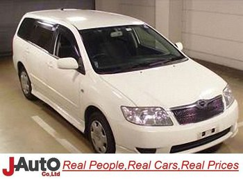 2004 Toyota Corolla Fielder NZE121 Used Car Sale