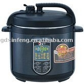 fashionable black housing pressure cooker