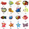 Marine Animal Shape Soft PVC Charms