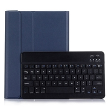 Silk PU Leather + PC Tablet Case A07 Ultra Slim ABS Bluetooth Keyboard Cover Case for iPad Air & Air 2 & Pro 9.7 & iPad 9.7 Inch