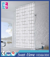 Hot Sale Waterproof EVA Shower Mildew Resistant Roller Blinds
