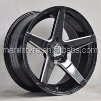 17*8.0 car aluminum alloy wheel rims for black
