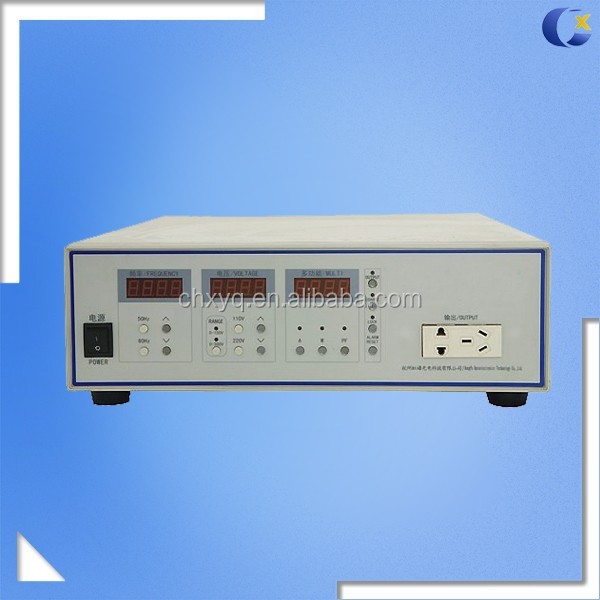 CX-THP-500 AC Power Source, Adjustable AC Power Source Which Output Voltage Range is 0~300V and Maximum Output Power is 1000VA