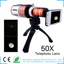 factory rent in china,50x optical zoom lens mobile phone telescope lens for Iphone htc desire 816