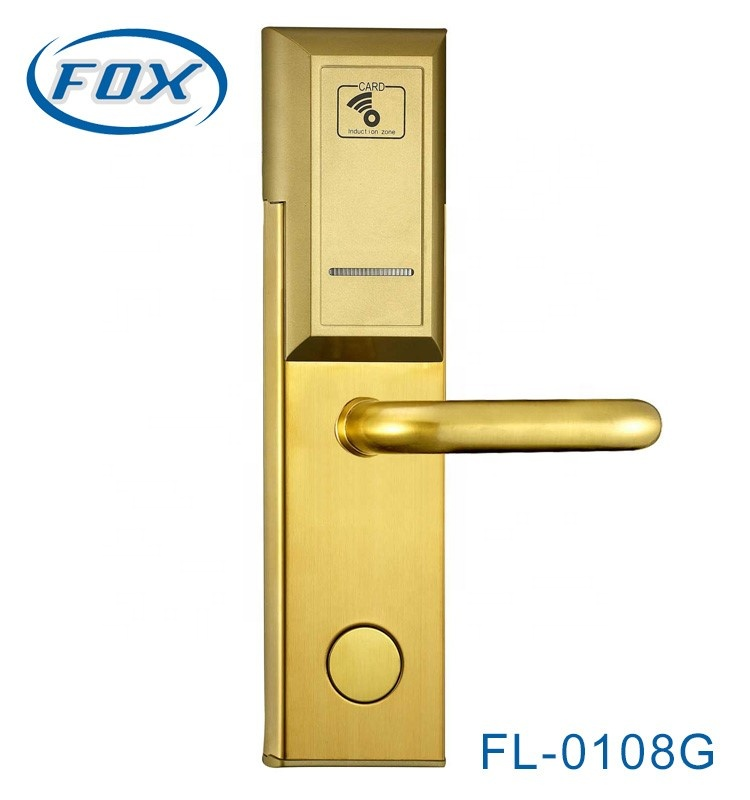 FOX smart card hotel door locks rf cards access control