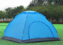 Quick-open 3-4 people camping tent