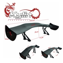 Kylin Racing Carbon Fiber or FRP Universal auto Rear spoilers