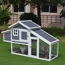 wooden outdoor furniture wood chicken cage and running and Wooden Chicken Coop with plastic roof