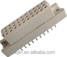 2.54mm straight triple row female Din 41612 connectors